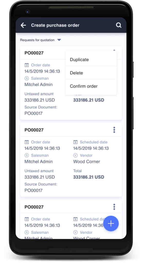 Ventor: Odoo Inventory App