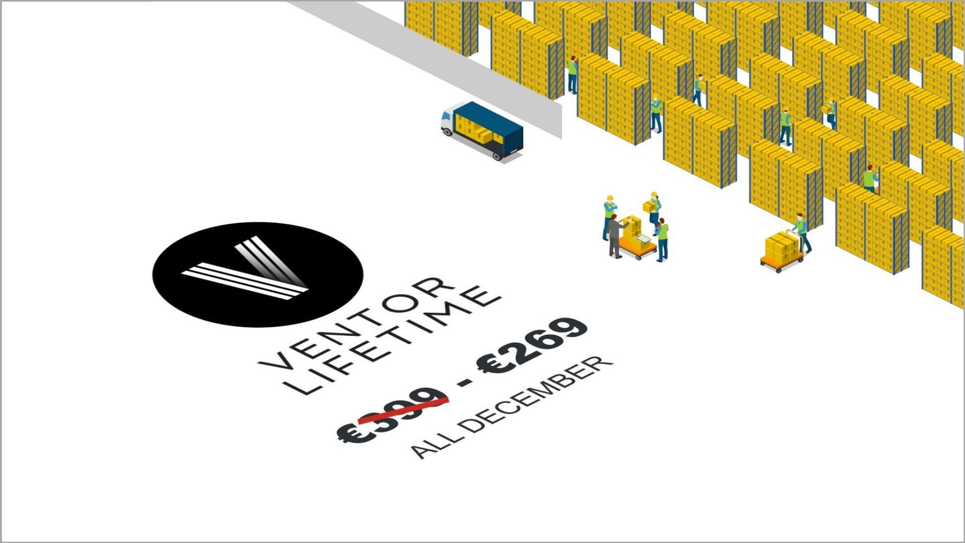 Ventor Lifetime Discount